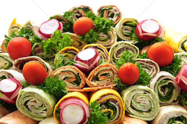 Sandwich tray Stock photo © elenaphoto