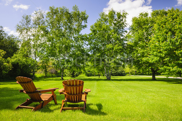 Summer relaxing Stock photo © elenaphoto
