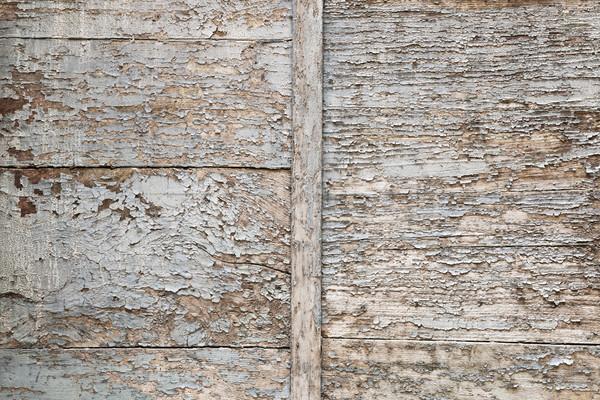 Zdjęcia stock: Wyblakły · drewna · streszczenie · starych · malowany · farby