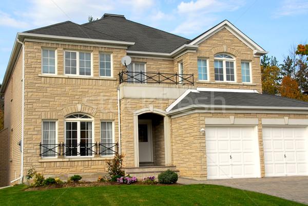 Сток-фото: дома · новых · семьи · роскошь · домой · каменные