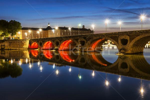 Pont Neuf in Toulouse Stock photo © elenaphoto