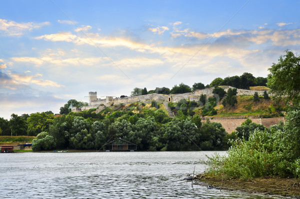 Kalemegdan fortress in Belgrade Stock photo © elenaphoto