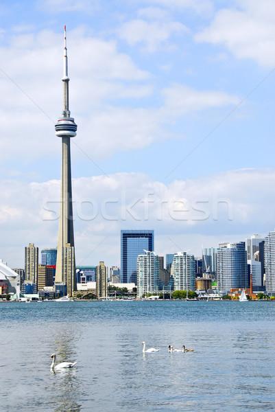 Toronto skyline Stock photo © elenaphoto