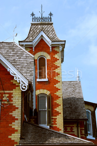 Victorian house Stock photo © elenaphoto