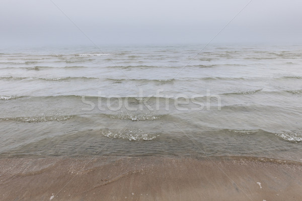 Waves in fog Stock photo © elenaphoto