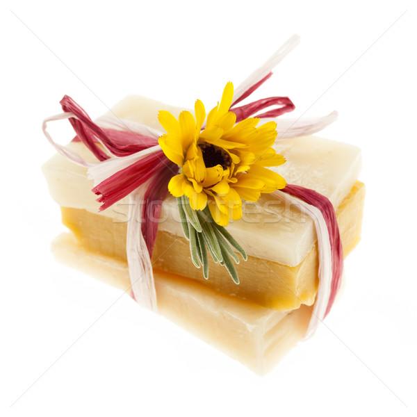 Handmade soaps Stock photo © elenaphoto