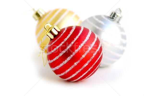 Christmas ball Stock photo © elenaphoto