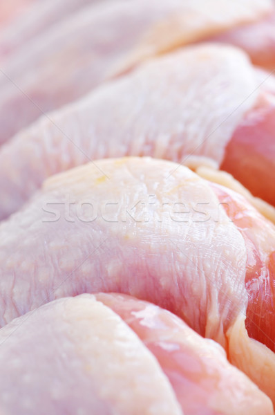 Tavuk süpermarket paket kuşlar et Stok fotoğraf © elenaphoto