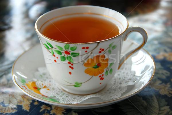 Cup of tea Stock photo © elenaphoto