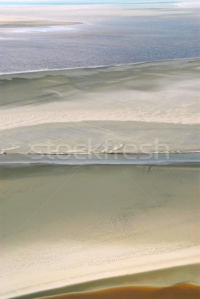 Ocean at low tide Stock photo © elenaphoto