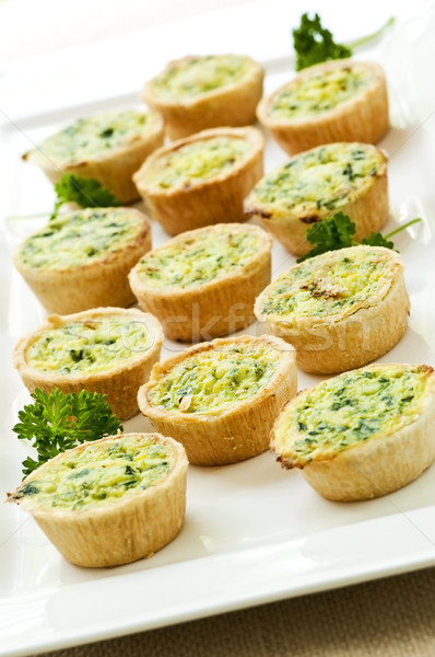 Mini quiches Stock photo © elenaphoto