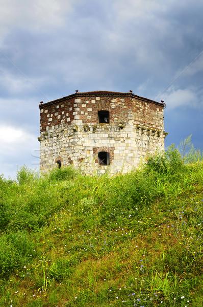 Torre Belgrado storico viaggio carcere prato Foto d'archivio © elenaphoto