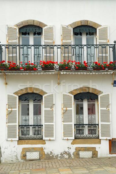 Breton house Stock photo © elenaphoto