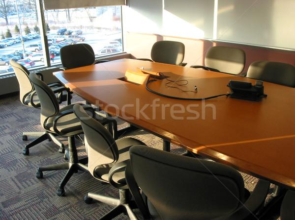 Konferans salonu boş iş araba toplantı araba Stok fotoğraf © elenaphoto