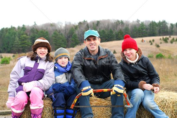 Family Stock photo © elenaphoto