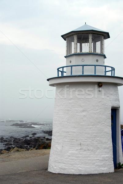 Zdjęcia stock: Latarni · mały · wybrzeża · Maine · USA · wody