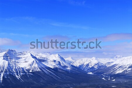 Winter mountains Stock photo © elenaphoto