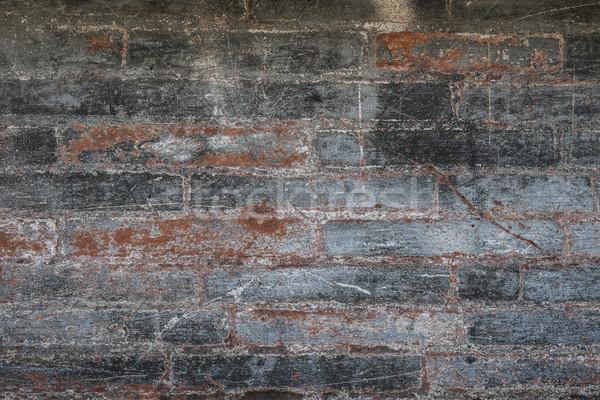 Antique brick wall Stock photo © elenaphoto