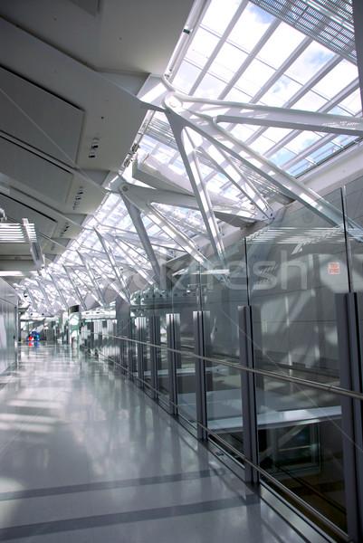 Сток-фото: аэропорту · интерьер · современных · международных · здании · строительство