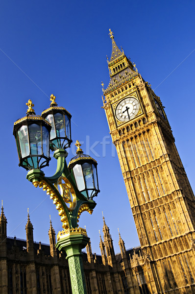 Stock photo: Big Ben and Palace of Westminster