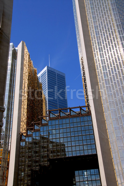 Skyscrapers Stock photo © elenaphoto