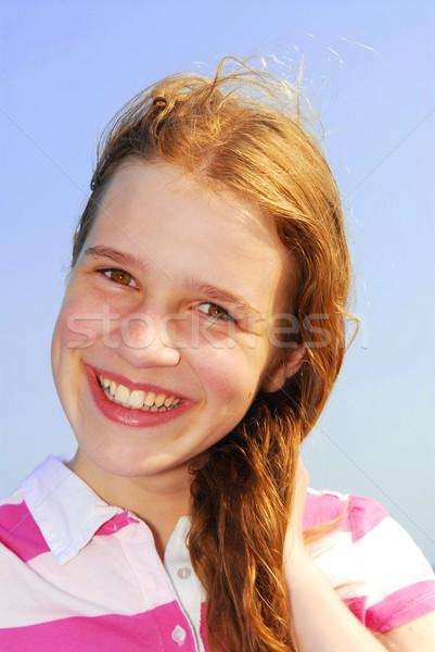 Young girl Stock photo © elenaphoto