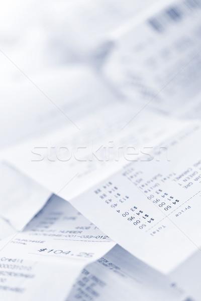 Sales receipts Stock photo © elenaphoto