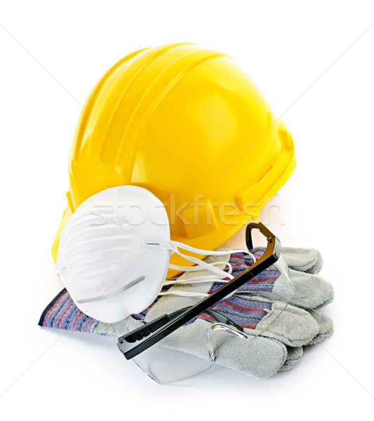 Construction safety equipment Stock photo © elenaphoto