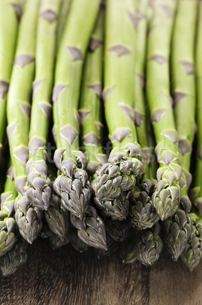 Asparagi fresche verde salute Foto d'archivio © elenaphoto