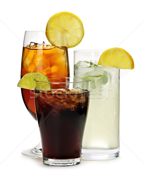 Soft drinks Stock photo © elenaphoto