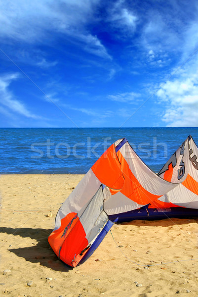 Kite surfing Stock photo © elenaphoto