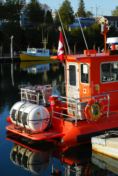 Stock photo: Boats in Tobermory