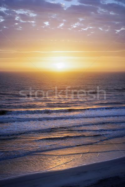 Sunrise over Atlantic Stock photo © elenaphoto