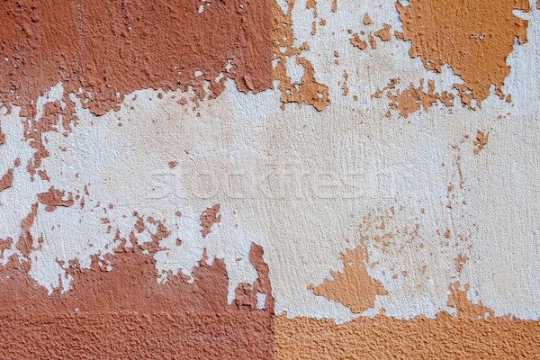 Old painted wall abstract Stock photo © elenaphoto
