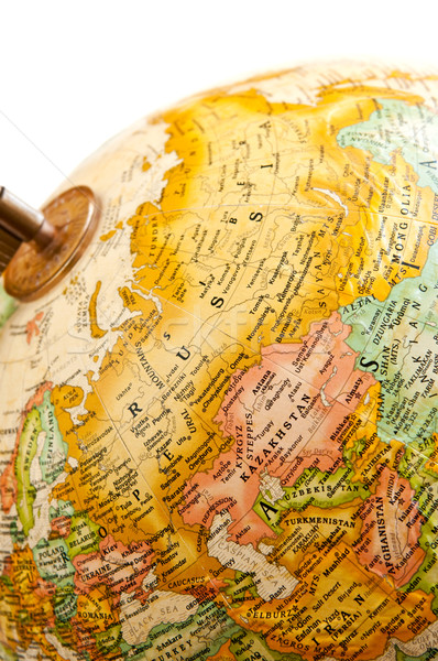 Globe - Russia Stock photo © elenaphoto