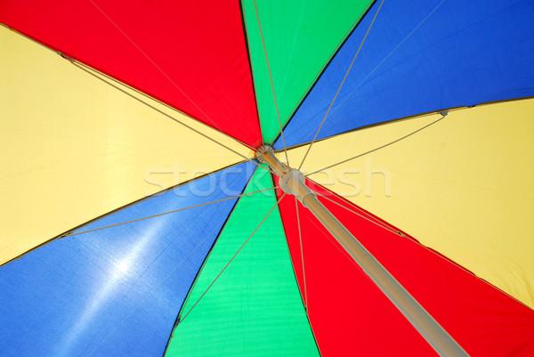 Ombrellone spiaggia sole mare Ocean ombrello Foto d'archivio © elenaphoto