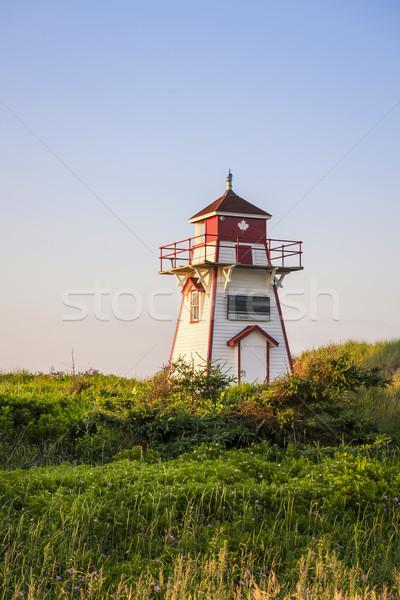 Covehead Harbour Lighthouse, PEI Stock photo © elenaphoto
