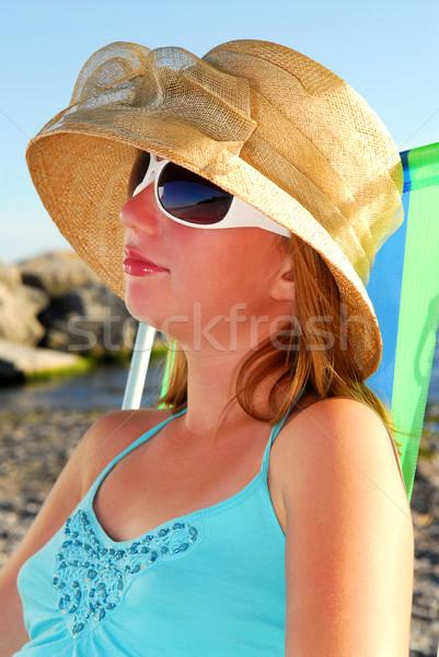 Stock photo: Teenage girl