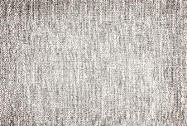Szürke vászon természetes szövet háttér klasszikus Stock fotó © elenaphoto