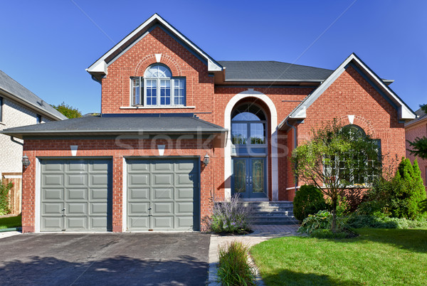 Stock photo: Detached suburban home