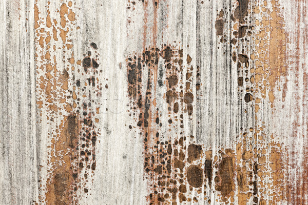 Old painted wood texture Stock photo © elenaphoto