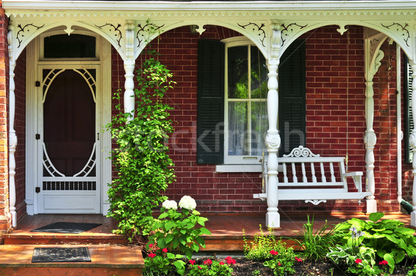 House porch Stock photo © elenaphoto