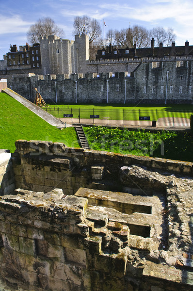 Tower of London Stock photo © elenaphoto