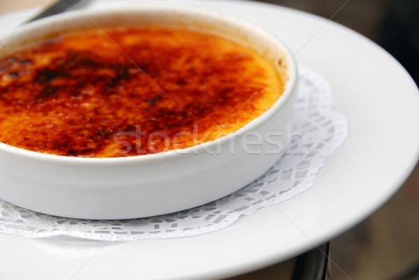 Creme brulee Stock photo © elenaphoto