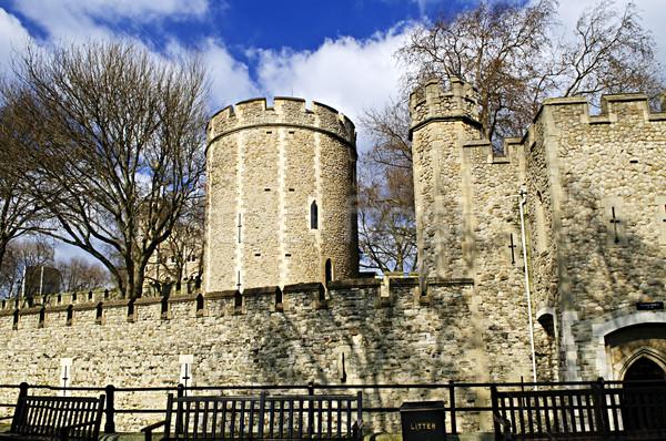 Torre Londra storico costruzione Inghilterra architettura Foto d'archivio © elenaphoto