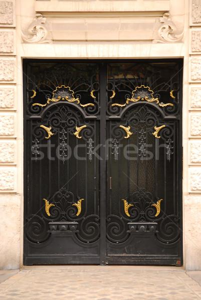 Doors Stock photo © elenaphoto