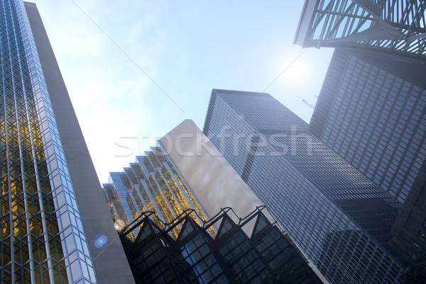 Skyscrapers Stock photo © elenaphoto