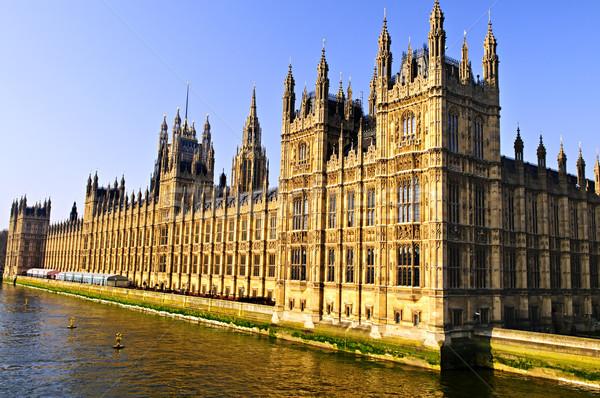 Photo stock: Palais · westminster · maisons · parlement · thames · rivière
