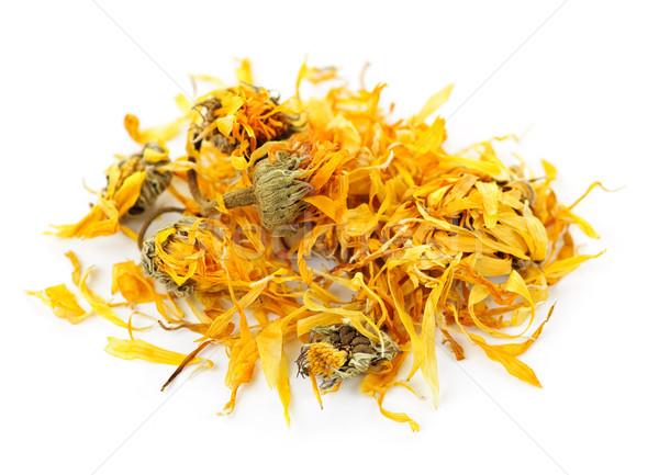 Dried calendula herb flowers Stock photo © elenaphoto