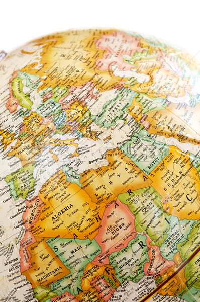 Globe - Mediterranean Stock photo © elenaphoto